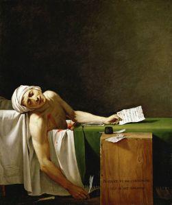 la morte di marat | j.l. david