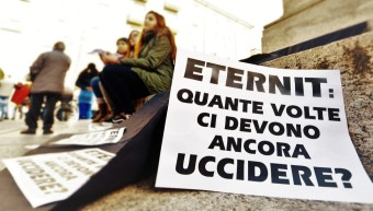 "Eternit: familiari sconcertati, ""vergogna, vergogna"""